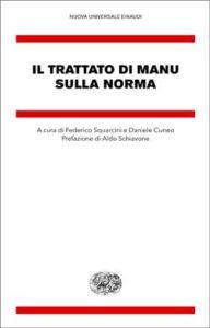 Copertina del libro Il trattato di Manu sulla norma di VV.