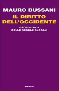 Copertina del libro Il diritto dell'Occidente di Mauro Bussani