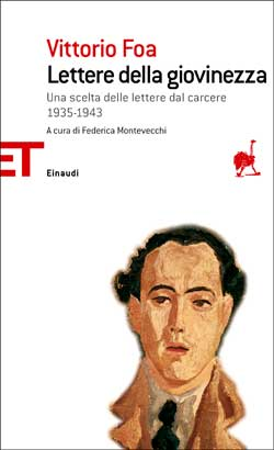 Copertina del libro Lettere della giovinezza di Vittorio Foa
