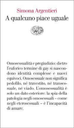 Copertina del libro A qualcuno piace uguale di Simona Argentieri