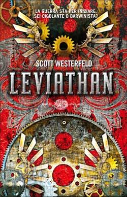 Copertina del libro Leviathan di Scott Westerfeld