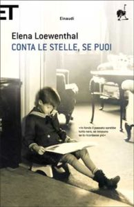 Copertina del libro Conta le stelle, se puoi di Elena Loewenthal