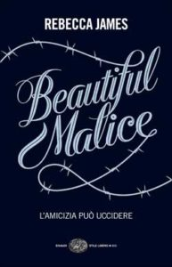Copertina del libro Beautiful Malice di Rebecca James