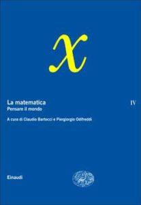Copertina del libro La matematica. Volume IV di VV.