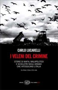 Copertina del libro I veleni del crimine di Carlo Lucarelli