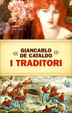 Copertina del libro I Traditori di Giancarlo De Cataldo