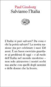 Copertina del libro Salviamo l'Italia di Paul Ginsborg