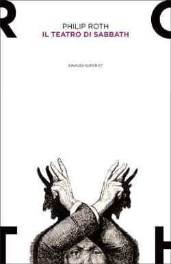 Copertina del libro Il teatro di Sabbath di Philip Roth