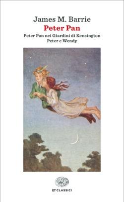 Copertina del libro Peter Pan di James M. Barrie