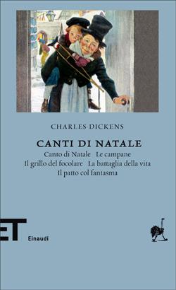 Copertina del libro Canti di Natale di Charles Dickens