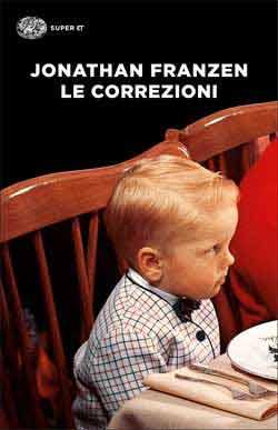 Copertina del libro Le correzioni di Jonathan Franzen