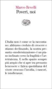 Copertina del libro Poveri, noi di Marco Revelli