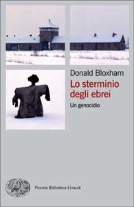 Copertina del libro Lo sterminio degli ebrei di Donald Bloxham