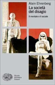 Copertina del libro La società del disagio di Alain Ehrenberg