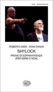 Copertina del libro Shylock di Moni Ovadia, Roberto Andò