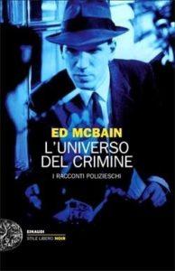 Copertina del libro L'universo del crimine di Ed McBain