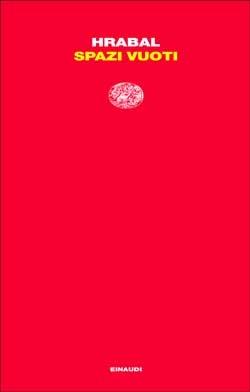 Copertina del libro Spazi vuoti di Bohumil Hrabal