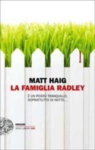 Copertina del libro La famiglia Radley di Matt Haig