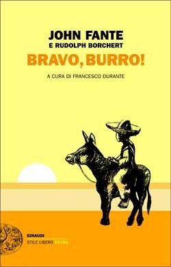 Copertina del libro Bravo, burro! di John Fante