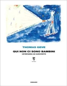 Copertina del libro Qui non ci sono bambini di Thomas Geve
