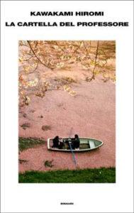 Copertina del libro La cartella del professore di Kawakami Hiromi