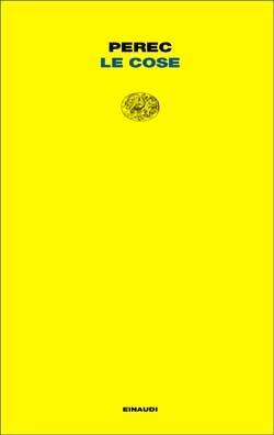 Copertina del libro Le cose di Georges Perec