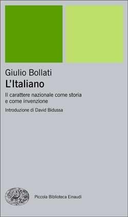 Copertina del libro L'Italiano di Giulio Bollati