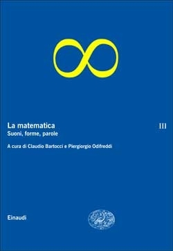 Copertina del libro La matematica. Volume III di VV.