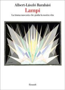 Copertina del libro Lampi di Albert-László Barabási