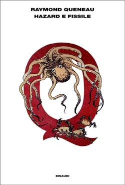 Copertina del libro Hazard e Fissile di Raymond Queneau