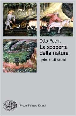 Copertina del libro La scoperta della natura di Otto Pächt