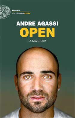 Copertina del libro Open di Andre Agassi