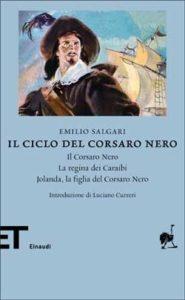 Copertina del libro Il ciclo del Corsaro Nero di Emilio Salgari