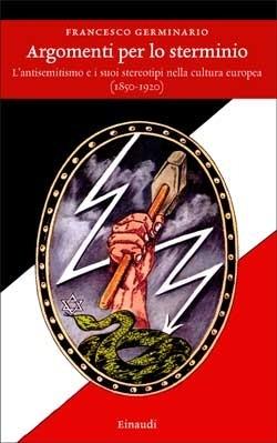 Copertina del libro Argomenti per lo sterminio di Francesco Germinario
