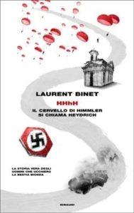 Copertina del libro HHhH di Laurent Binet