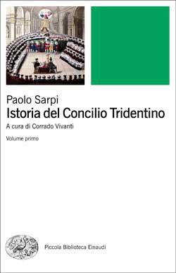 Copertina del libro Istoria del Concilio Tridentino di Paolo Sarpi