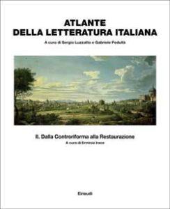 Copertina del libro Atlante della letteratura italiana Vol.II di Sergio Luzzatto, Gabriele Pedullà