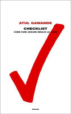 Copertina del libro Checklist di Atul Gawande