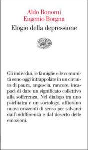 Copertina del libro Elogio della depressione di Aldo Bonomi, Eugenio Borgna