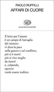 Copertina del libro Affari di cuore di Paolo Ruffilli