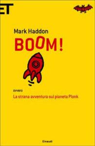 Copertina del libro Boom! di Mark Haddon