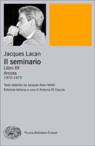 Copertina del libro Il seminario. Libro XX di Jacques Lacan