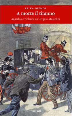Copertina del libro A morte il tiranno di Erika Diemoz