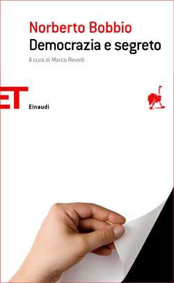 Copertina del libro Democrazia e segreto di Norberto Bobbio