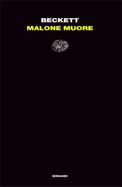 Copertina del libro Malone muore di Samuel Beckett