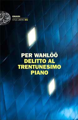 Copertina del libro Delitto al trentunesimo piano di Per Wahlöö