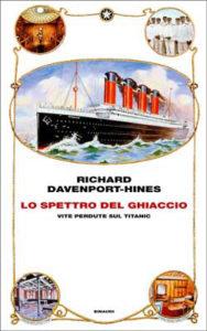 Copertina del libro Lo spettro del ghiaccio di Richard Davenport-Hines