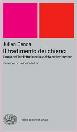 Copertina del libro Il tradimento dei chierici di Julien Benda