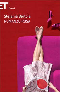 Copertina del libro Romanzo rosa di Stefania Bertola