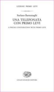Copertina del libro Una telefonata con Primo Levi di Stefano Bartezzaghi